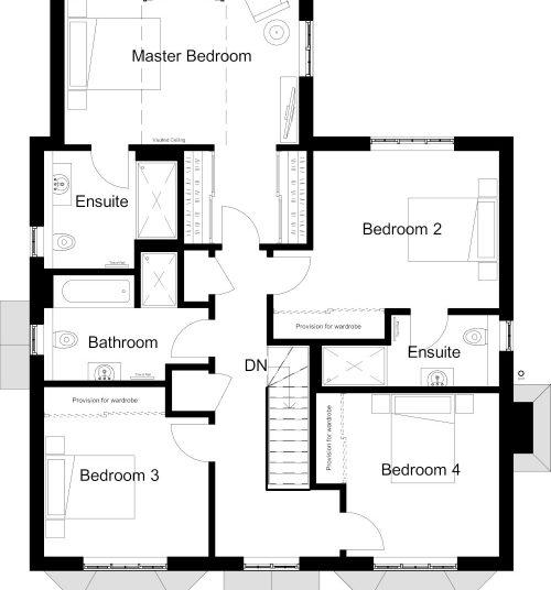 Newbridge House - floorplan