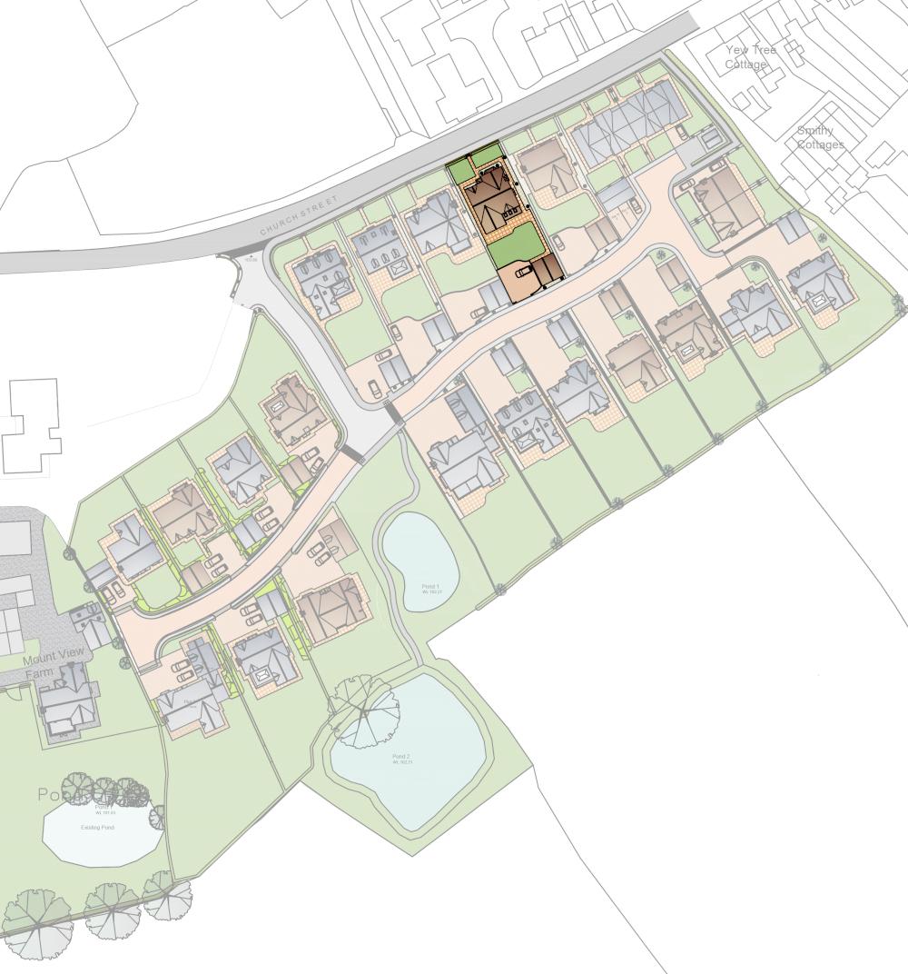 Haughton Lodge Site Plan