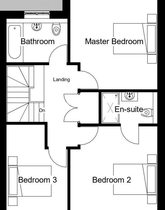 Moorhen - First Floor Plan
